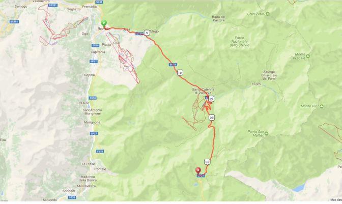 Gavia Route