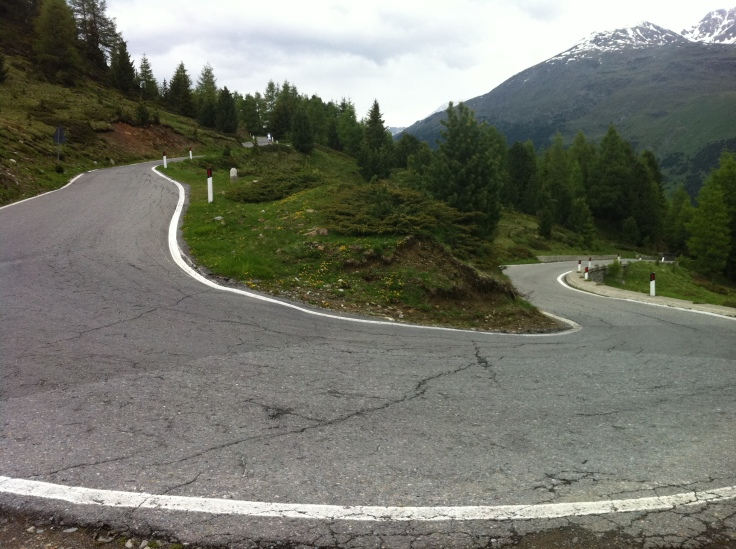 Italy - Mortirolo - Switchback