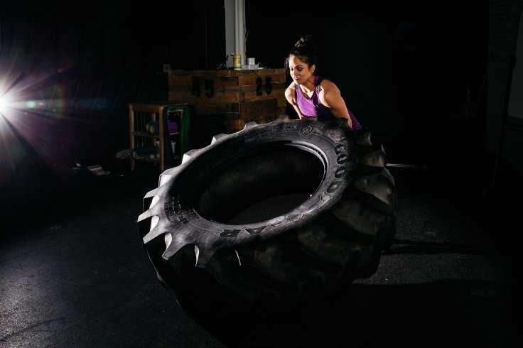 With Tire
